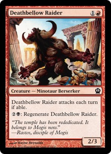 Deathbellow Raider Magic Card
