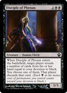 Disciple of Phenax Magic Card
