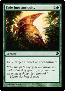 Fade into Antiquity Magic Card