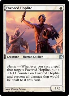 Favored Hoplite Magic Card