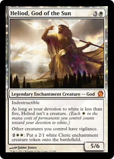 Heliod, God of the Sun Magic Card