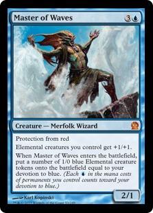 Master of Waves Magic Card