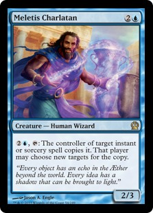 Meletis Charlatan Magic Card