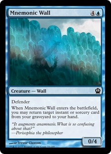 Mnemonic Wall Magic Card