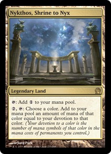 Nykthos, Shrine to Nyx Magic Card
