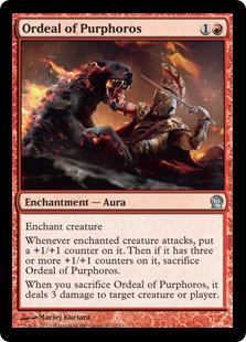 Ordeal of Purphoros Magic Card