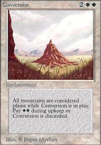 Conversion Magic Card