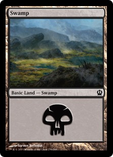 Swamp Magic Card