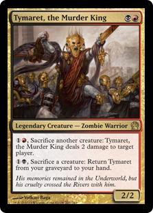 Tymaret, the Murder King Magic Card
