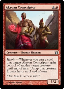 Akroan Conscriptor Magic Card