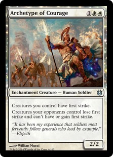 Archetype of Courage Magic Card
