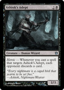 Ashiok's Adept Magic Card
