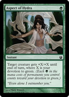 Aspect of Hydra Magic Card