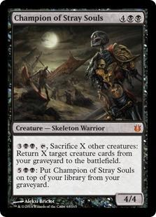 Champion of Stray Souls Magic Card
