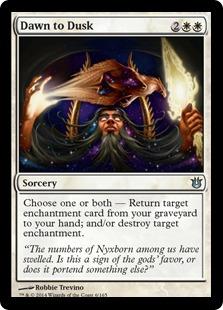 Dawn to Dusk Magic Card