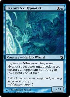 Deepwater Hypnotist Magic Card
