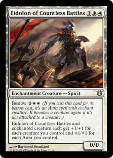 Eidolon of Countless Battles Magic Card