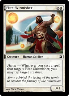 Elite Skirmisher Magic Card