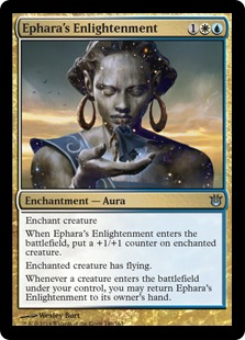 Ephara's Enlightenment Magic Card