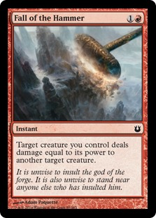 Fall of the Hammer Magic Card