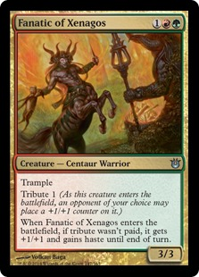 Fanatic of Xenagos Magic Card