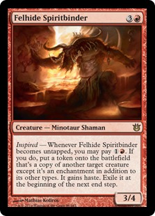 Felhide Spiritbinder Magic Card