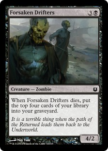 Forsaken Drifters Magic Card