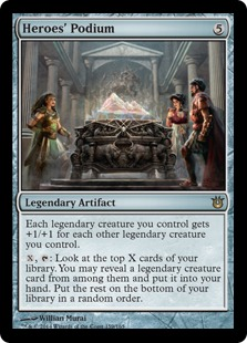 Heroes' Podium Magic Card