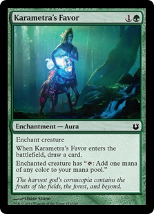 Karametra's Favor Magic Card