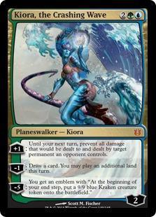 Kiora, the Crashing Wave Magic Card