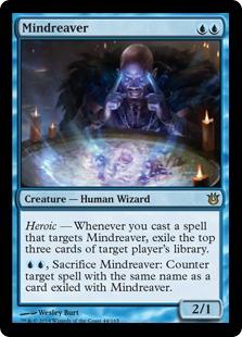 Mindreaver Magic Card