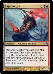 Ragemonger Magic Card