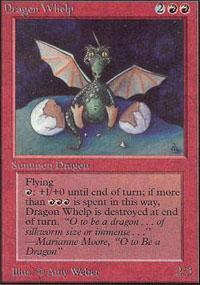 Dragon Whelp Magic Card