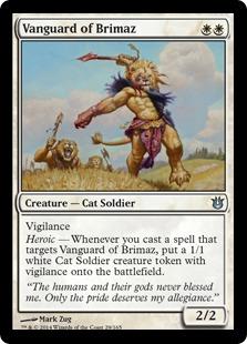 Vanguard of Brimaz Magic Card