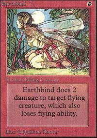 Earthbind Magic Card