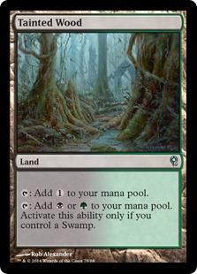 Tainted Wood Magic Card