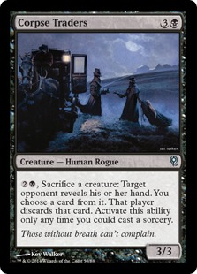 Corpse Traders Magic Card