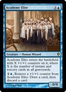 Academy Elite Magic Card