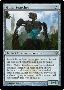 AEther Searcher Magic Card