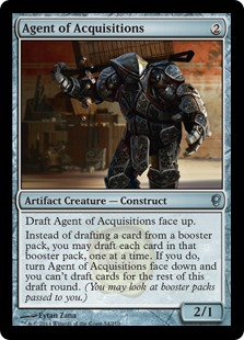 Agent of Acquisitions Magic Card