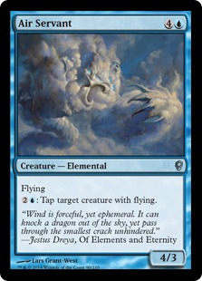 Air Servant Magic Card