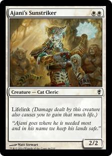 Ajani's Sunstriker Magic Card