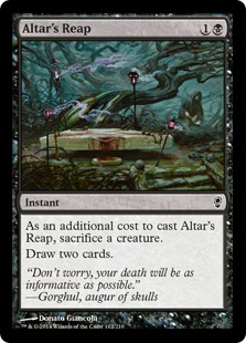 Altar's Reap Magic Card