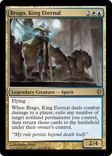 Brago, King Eternal Magic Card