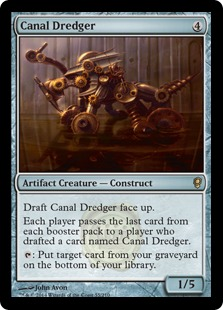 Canal Dredger Magic Card