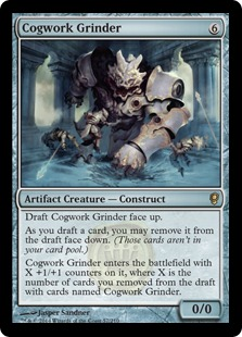 Cogwork Grinder Magic Card