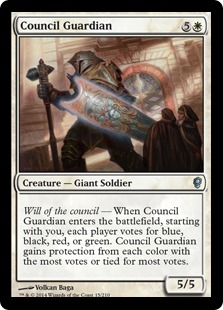 Council Guardian Magic Card