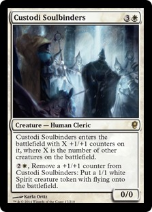 Custodi Soulbinders Magic Card