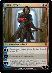 Dack Fayden Magic Card