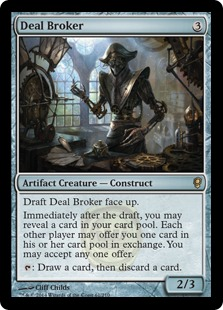 Deal Broker Magic Card